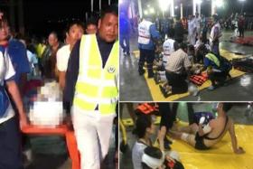 泰国沉船1死53失踪,船上大部分为中国游客