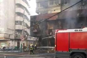 突发!已致5死3伤!安徽蚌埠一门面房发生火灾