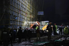 浙江海宁污水罐体坍塌已致9死,失联人员全部找到