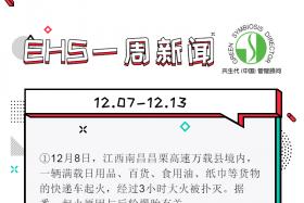EHS一周新闻(12.07-12.13)
