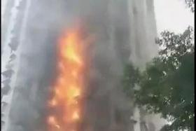 重庆渝北区一居民楼起火,原因竟是居民在家熏腊肉引起?