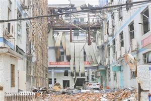 实拍深圳龙华电子厂爆炸 楼内瞬间迸出巨大火球